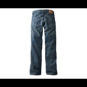 Boys Levi's loose straight 10 slim 23 x25 jeans